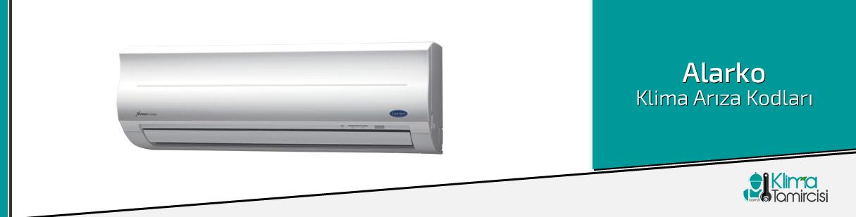 Alarko Carrier Salon Tipi Klima Arıza Kodları