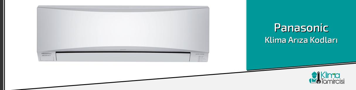 Panasonic Klima Arıza Kodları