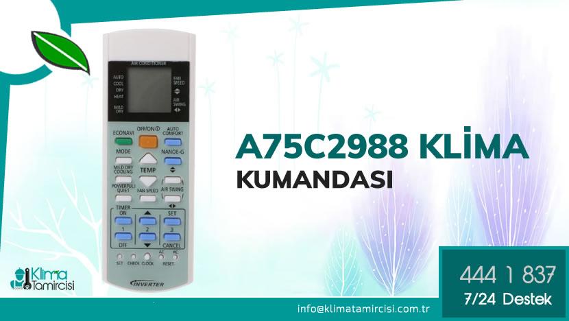 Panasonic A75C2988 Isıtma Soğutma