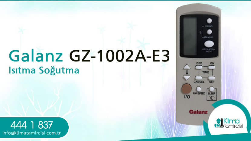 Galanz GZ-1002A-E3 Isıtma Soğutma