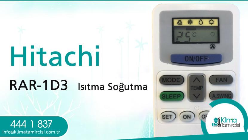 Hitachi RAR-1D3 Isıtma Soğutma