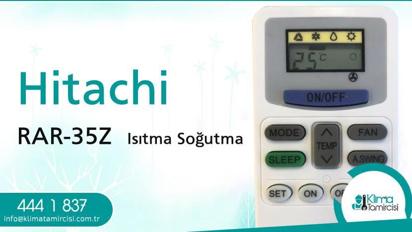 Hitachi RAR-35Z Isıtma Soğutma