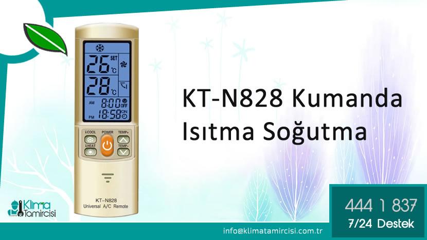 KT-N828 Kumanda Isıtma Soğutma