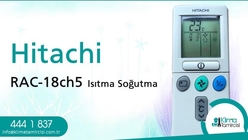Hitachi RAC-18CH5 Isıtma Soğutma