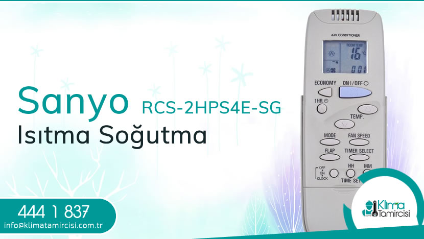 Sanyo RCS-2HPS4E-SG Isıtma Soğutma