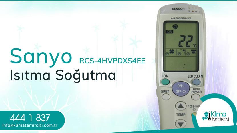 Sanyo RCS-4HVPDXS4EE Isıtma Soğutma